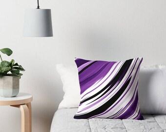 Purple Pillow, Purple Decorative Pillow, Purple Pillow Case, Purple Bedding, Purple Throw Pillow, Purple Pillow Case, Purple Pillow Cover