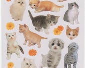 Cat Stickers - Kitten Stickers - La Dolce Vita Mind Wave Stickers - Reference A4253-54