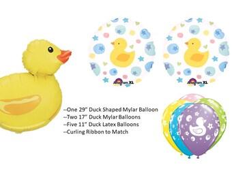 Rubber Duck Balloon Bouquet