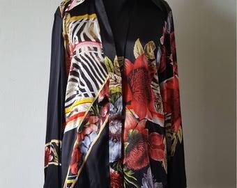 Roberto Cavalli blouse size US16