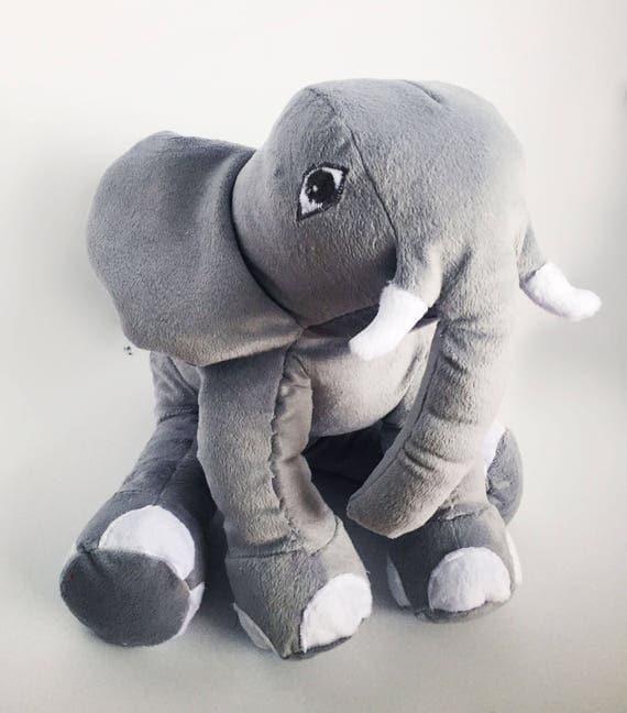 Giant Stuffed Elephant Huge Stuffed Elephant Big Elephant