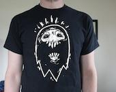Ghost - Screen Printed Shirt Black