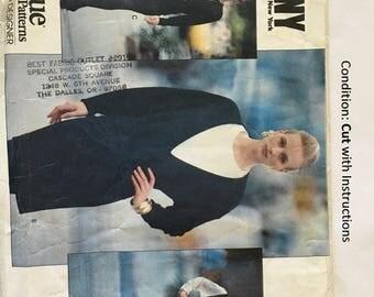 Vintage Pattern Vogue 2586  Designer Donna Karen New York