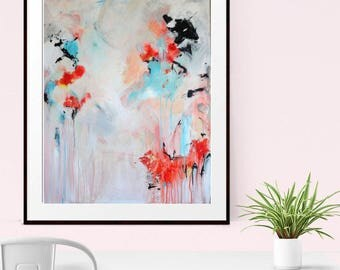 Abstract Canvas Print, Giclee Print , Origianl Abstract, Fine art Print , Modern Art , Abstract Art Print , Home Decor, Wall Decor