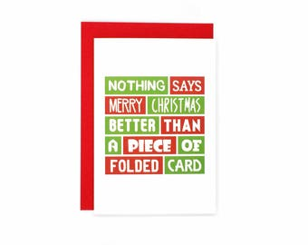 Dad christmas card funny dad humour cheeky merry funny christmas card merry christmas for friend folded card cheeky christmas m4hsunfo