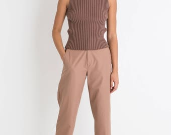 70s Cocoa Trousers S