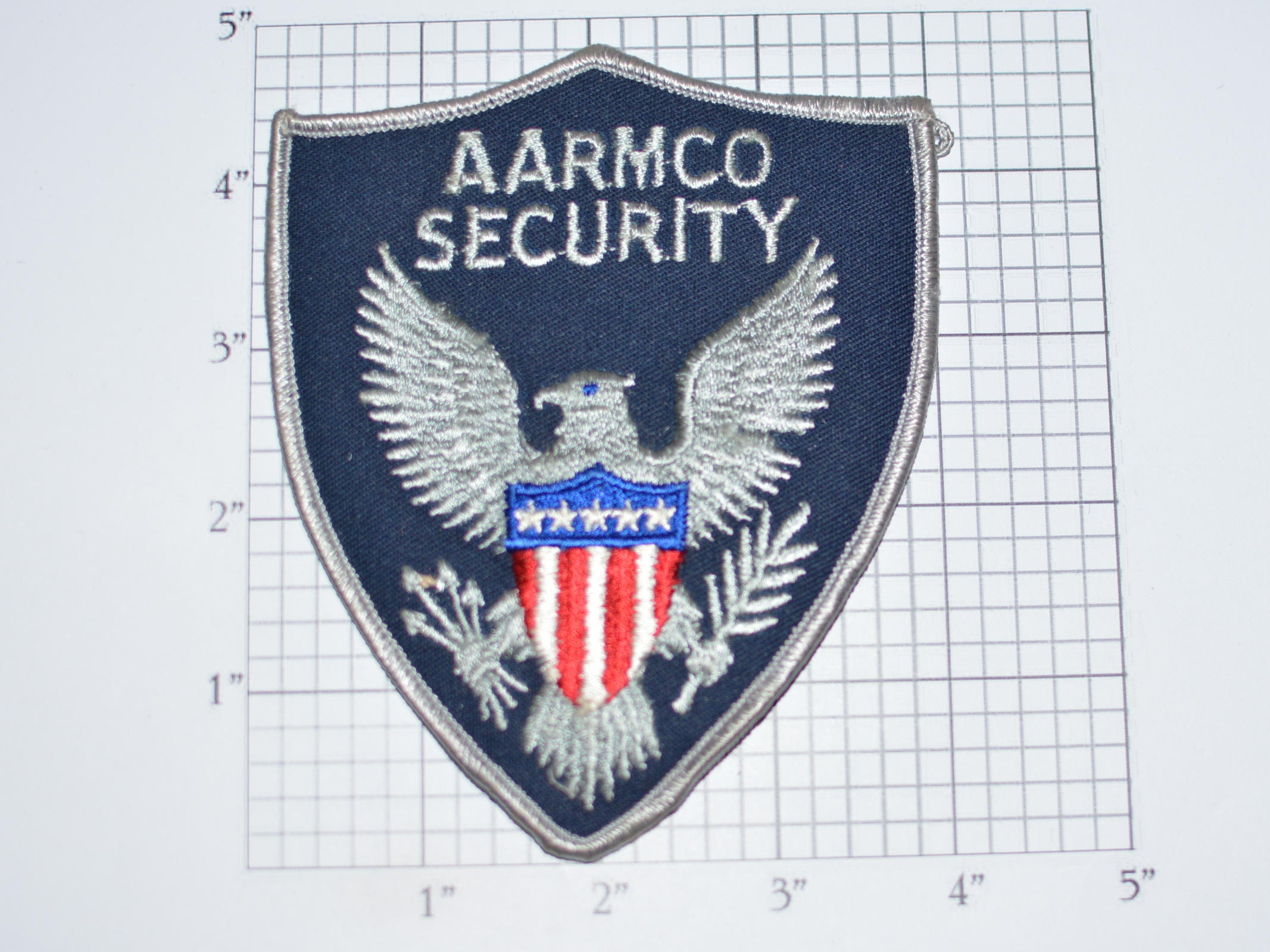 Aarmco security iron on vintage embroidered uniform shoulder patch aarmco security iron on vintage embroidered uniform shoulder patch for jacket vest shirt costume cosplay guard eagle shield arrow usa e30q buycottarizona Gallery