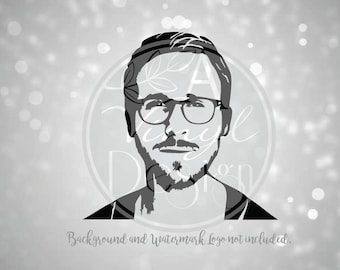 Ryan Gosling Vinyl Decal