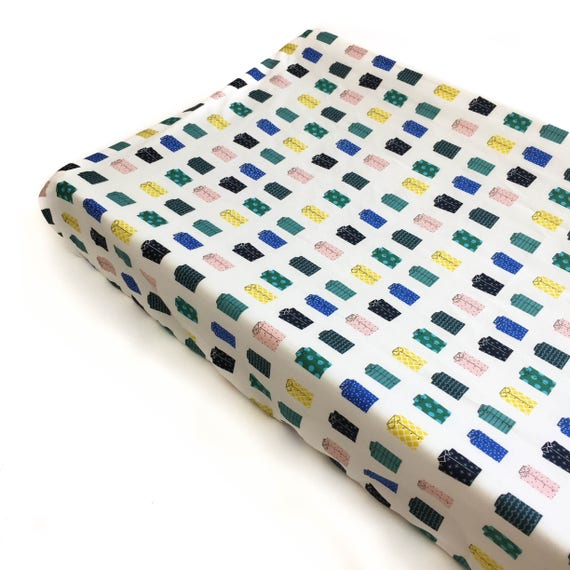 Changing Pad Cover - KUJIRA Shirts in White - READY-to-SHIP