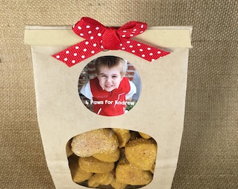 Home made doggie biscuits *Hearts*