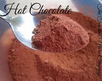 Hot Chocolate, Frozen Hot Chocolate, Sweetened Cocoa Powder