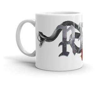 Reputation Swift Snakes White Mug