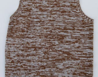 The Villager Vintage Knit Tank Top, Size Medium