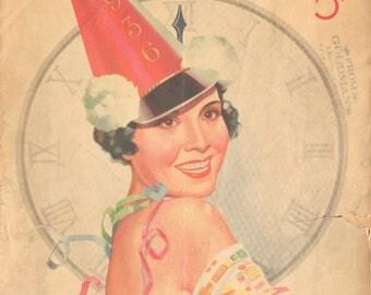 1936 Radio Guide Magazine Paul Whiteman, Bing Crosby, Olga Albani