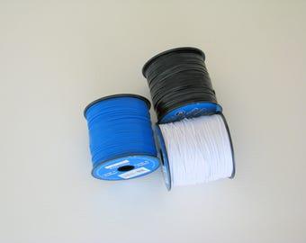 plastic lacing, braiding lacing, lanyard lacing, craft supplies, arts and crafts, whistle lanyard, plastic cord, lacing spool