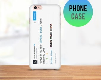 Larry Stylinson Always in My Heart Tweet Cell Phone Case - Available for iPhone and Samsung