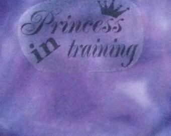 Baby Vests, Princess in Training Baby Vest, Baby Girl, Girly Gift, New Mum Gift,Baby Boy, Baby Girl, New Mom Gift, Newborn to 36 months.