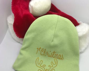 First Christmas Infant Beanie