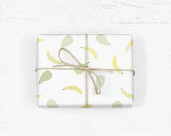 Banana & Pear Wrapping Paper