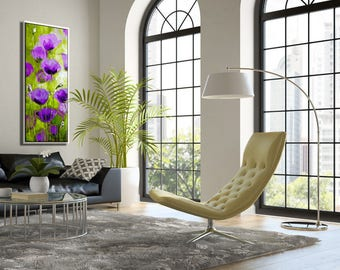 Purple Wall Decor, Nature Art Print, Living Room Wall Art, Nature Home Decor Part 49