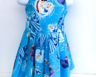 Cinderella Dress - Girls Dress - Girls Party Dress - Girls Summer Dress
