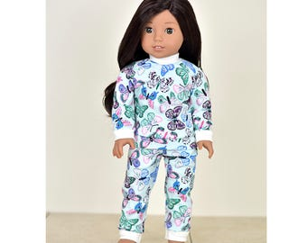 Warm&Cozy PJs 18 inch doll clothes 2 piece set