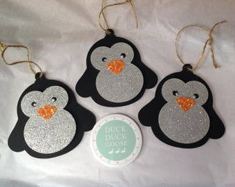 Christmas Penguin Bauble by Duck Duck Goose