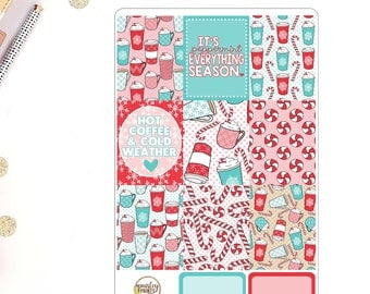 Peppermint Everything Weekly Planner Sticker Kit for use in Erin Condren Life Planner