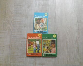 Ladybird Books Key Word Reading Scheme Things we do, Fun at the farm, Say the sound