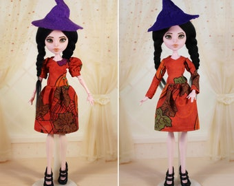2 STYLES! Clothes/Outfit/Dress + Hat for Monster High dolls/Halloween