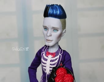 Monster High Custom Repaint Art doll OOAK Slo Mo