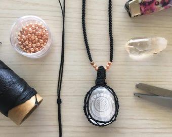 Sacred Selenite Necklace