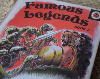 Famous Legends Book 2 . A Vintage Ladybird Book. Series 740. First Edition
