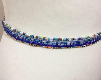 African Waist beads, 6 X  Waist beads , Jewelry making