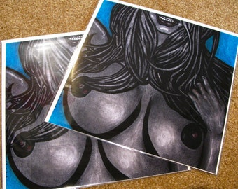 """Dana"" Art Print [open edition, 8x8""/12x12""]"