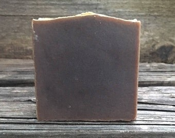 Happy Hippie Soap, Sandalwood & Patchouli Soap, Goat Milk Soap, Hemp Seed Oil Soap, New Batch!