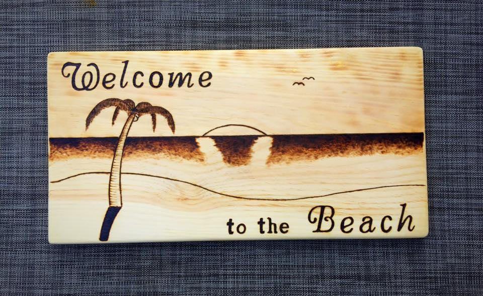Beach House Decor, Beach lovers, summer decor,wooden wall decor ...
