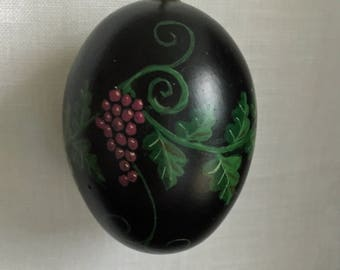 Hand Painted Chicken Egg