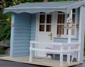 Handmade Porch Miniature 1:6 Pullip Blythe Momoko Barbie BJD Lati