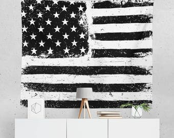 USA Flag Tapestry | USA Flag Wall Tapestry | American Flag Tapestry | USA Flag Wall Décor | Usa Flag Wall Art | Usa Flag Décor