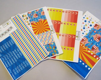 Life's a Circus Weekly Sticker Kit for use with EC LifePlanner™/Happy Planners