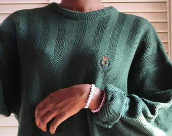 Vintage Forest Green Ralph Lauren Sweater