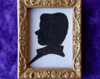 Miniature Silhouette (Man)