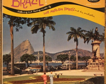 Brazil! | Luiz Arruda Paes and his orchestra (Capitol Records, High Fidelity, T10127)
