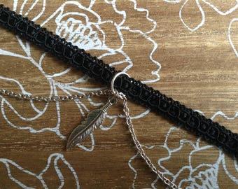 Handmade Chain and Charm Choker