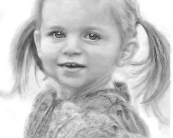 Custom Pencil Drawing from Photos/ Drawing from photo/ Unique Gifts/ Graphite portraits/ realistic drawing/ Custom Portraits/