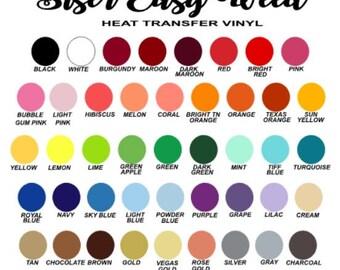 Siser EasyWeed HTV, HTV, Heat Transfer Vinyl, Siser Easy Weed, Heat Transfer, DIY Heat Transfer