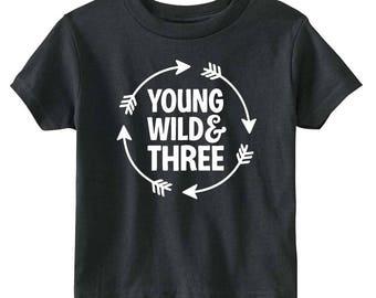Young Wild & Three Arrow - Shirt