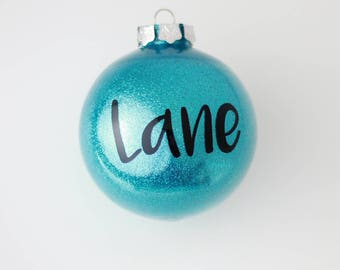 Personalised christmas bauble  Etsy NZ