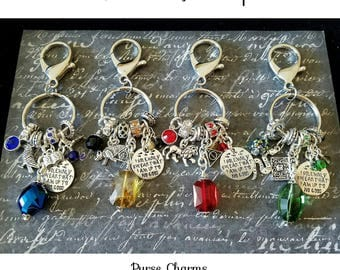 Harry Potter Inspired Purse Charms